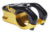NS Bikes Magneto - Potence Downhill - Ø 31,8 mm noir/Or